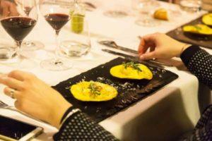 cena degustazione completa abbinamento vino trattoria zi maria